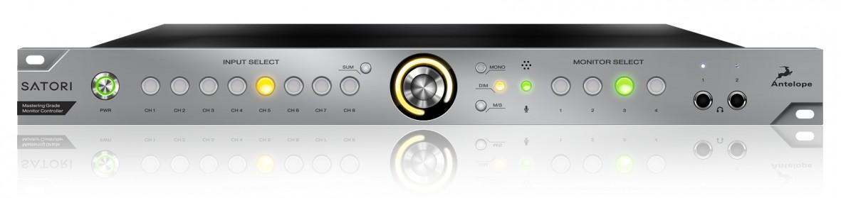 Antelope Audio Satori Front Panel jpg - Antelope Audio SATORI