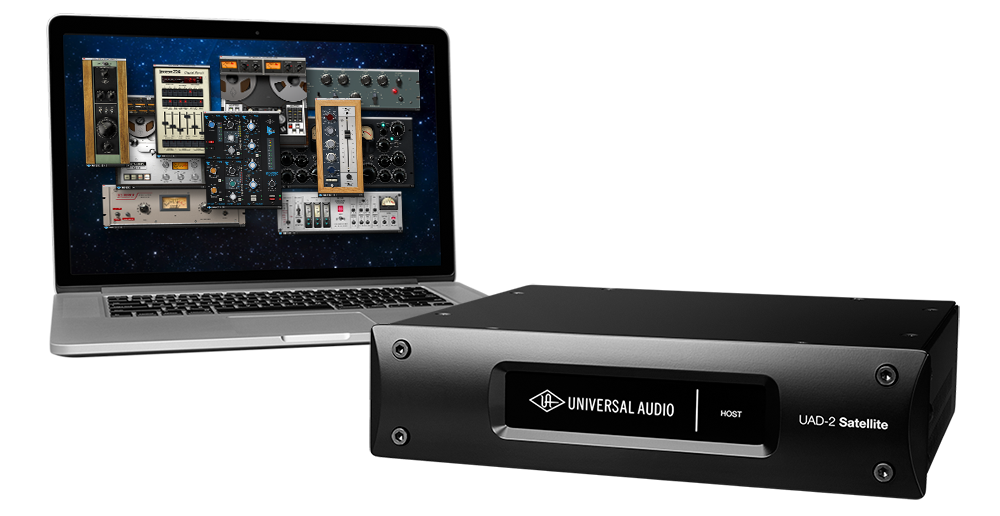 UAD 2 Satellite Thunderbolt Age of Audio  - UAD-2 Satellite Thunderbolt DSP Accelerators