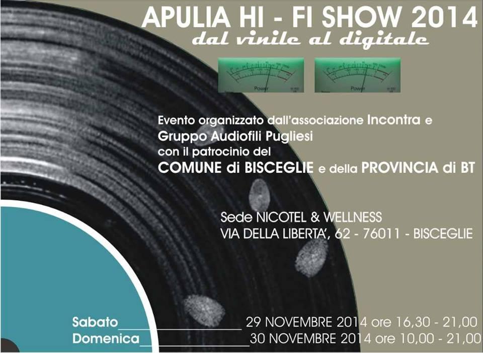 Apulia Hi Fi Show 2014 - Apulia Hi-Fi Show 2014