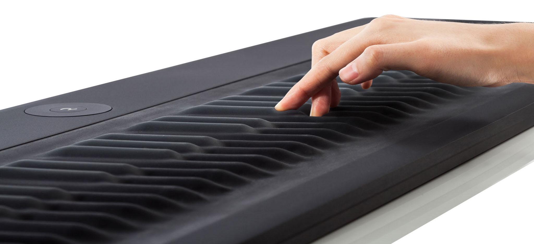 Roli Seaboard Age of Audio - ROLI Seaboard - Il pianoforte si fa morbido