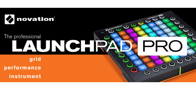 Novation Lounchpad Pro Age of Audio - Namm 2015 - Novation Launchpad Pro