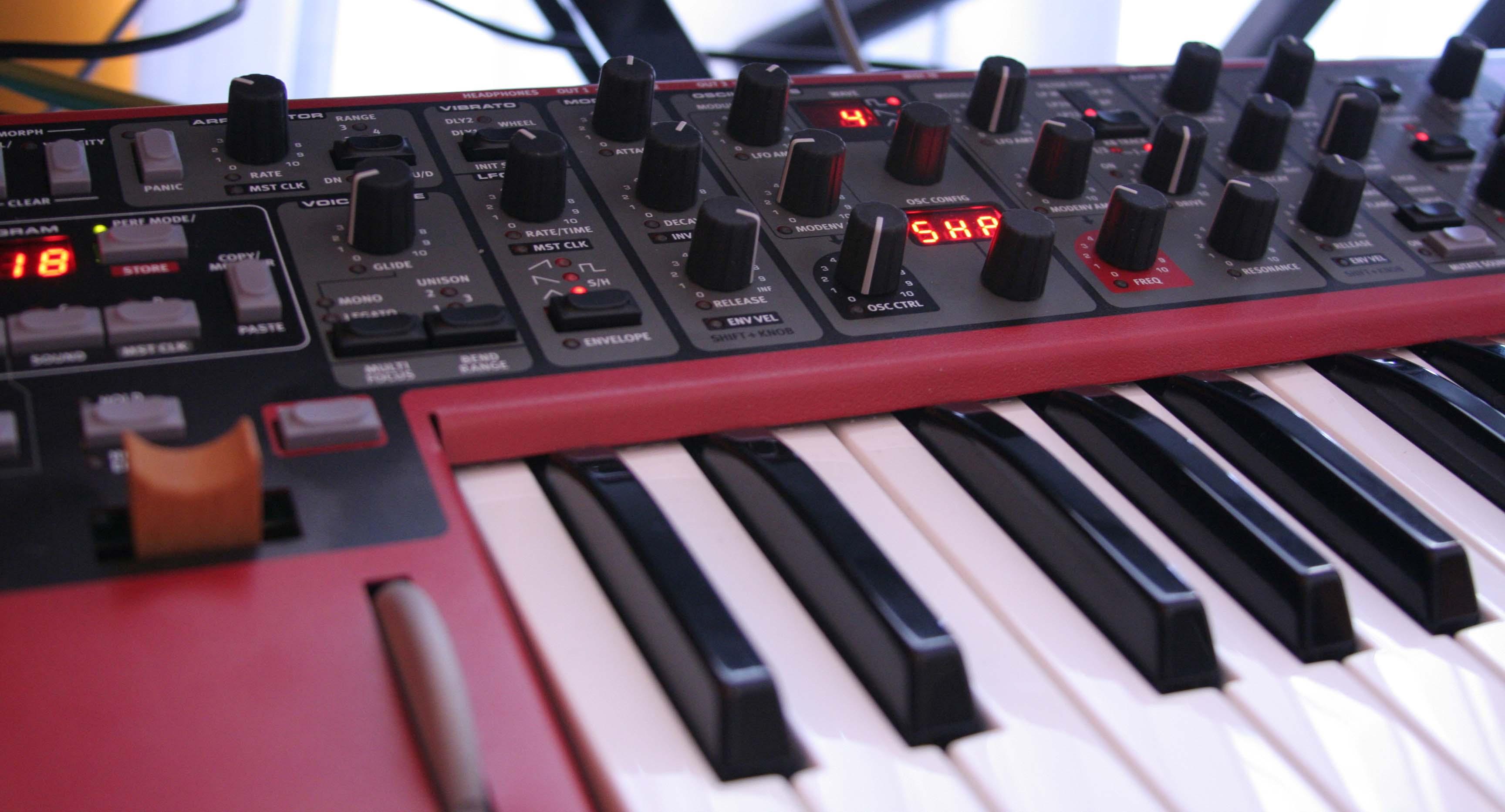 Particolare Nord Lead A1 Age of Audio  - Nord Lead A1 – Synthesi della semplicità