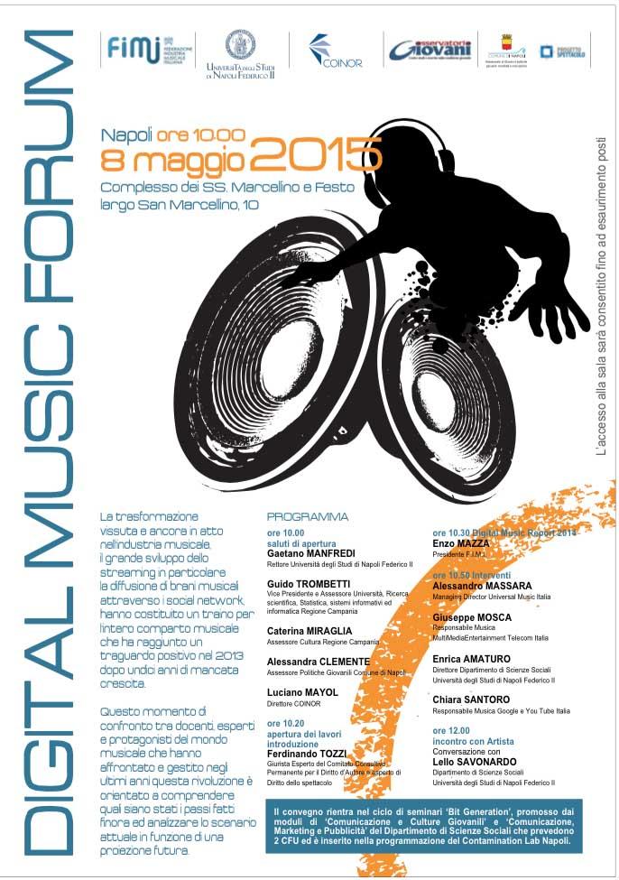 Digital Music Forum Age of Audio - IL DIGITAL MUSIC FORUM TORNA A NAPOLI