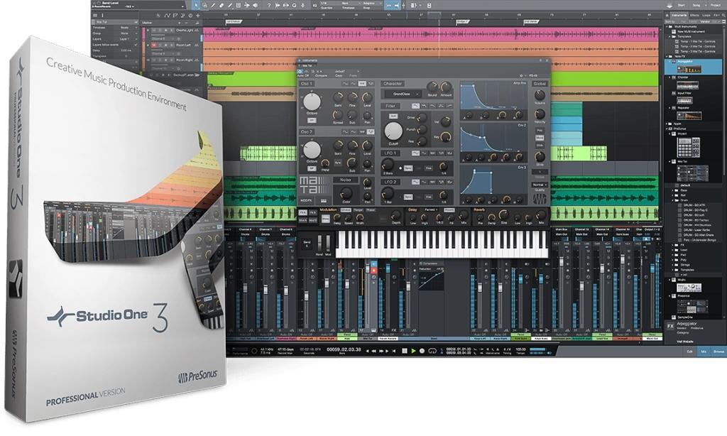 Presonus Studio One - Presonus Studio One 3 - La daw senza complesso di inferiorità