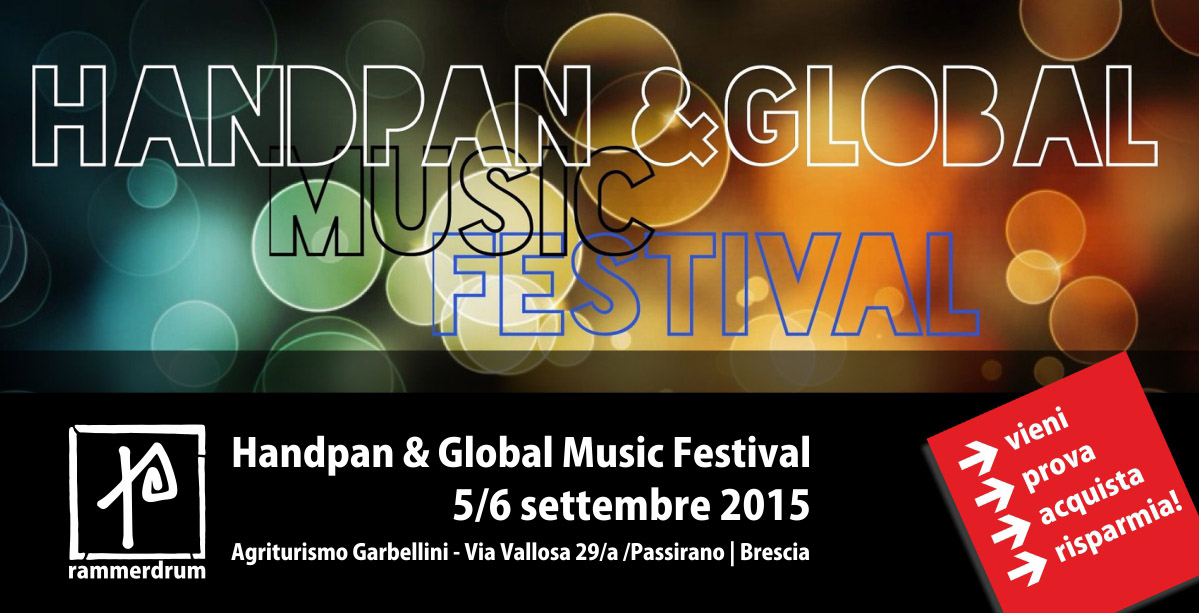 Handpan Festival Age of Audio - Handpan & Global Music Festival