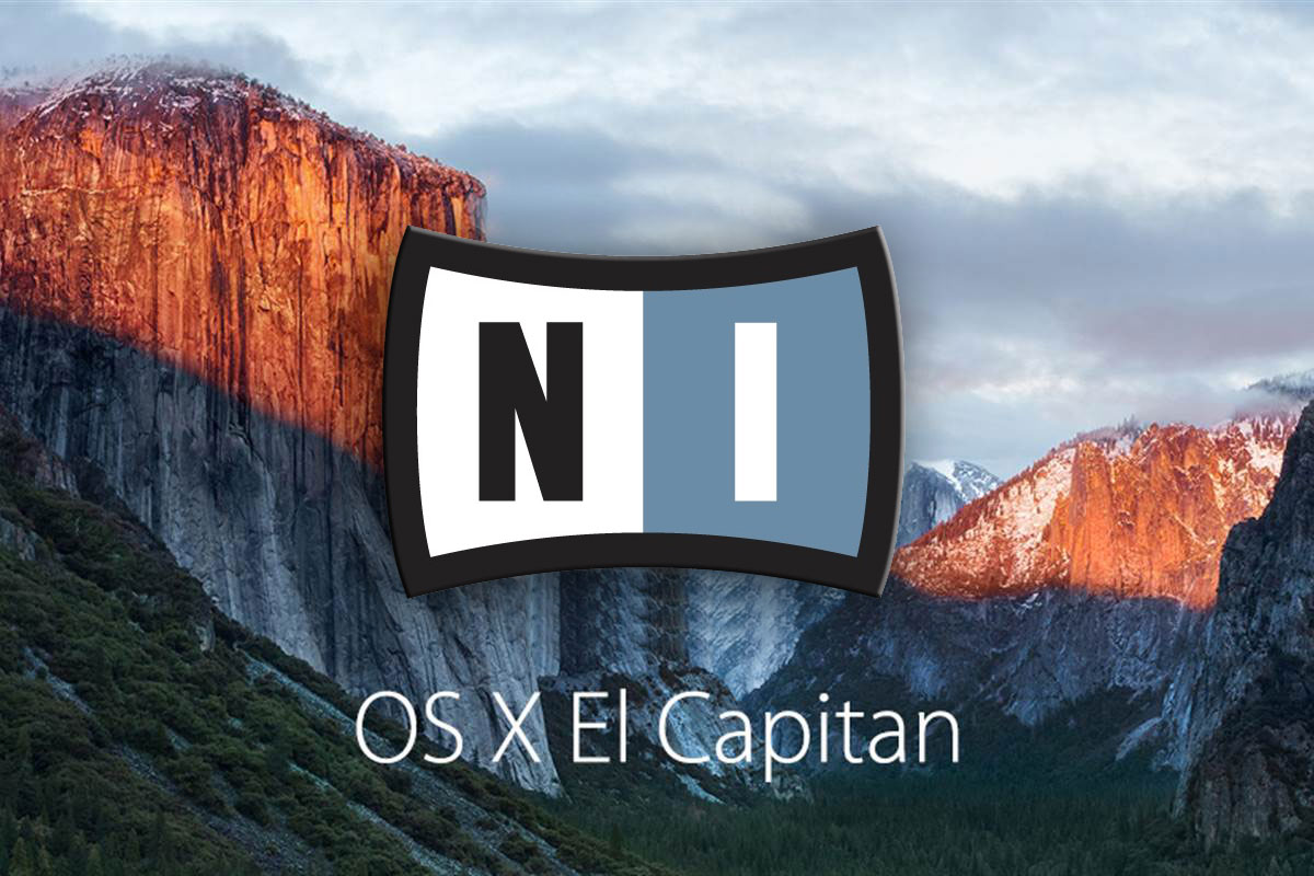 osx el capitan native instruments1 - El Capitan vs Native instruments