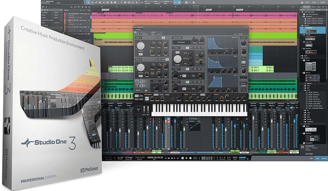 Presonus Studio One 3 copia - PreSonus Music Education Italia