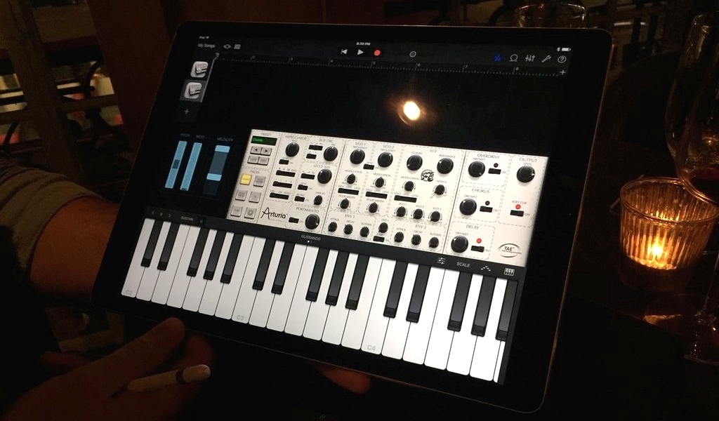 iSEM su iPAD pro Age of Audio - Audio Unit su iPad Pro