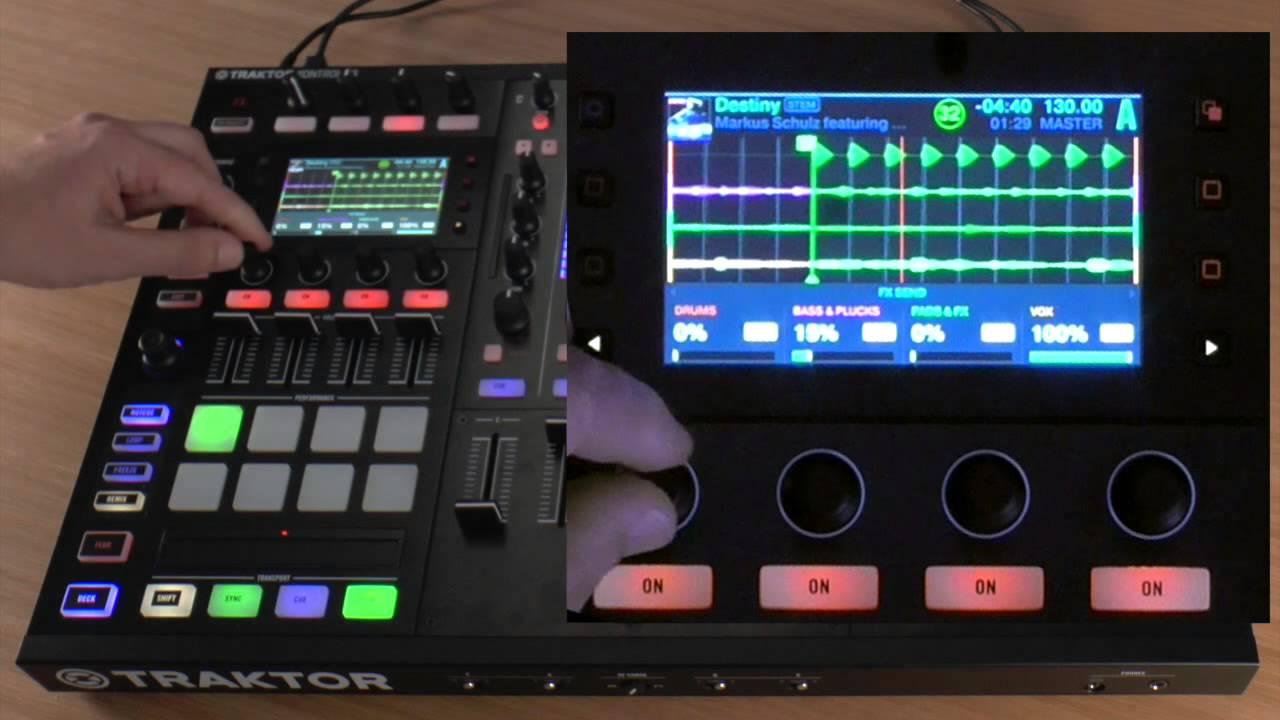 stemstraktor - Native instruments - Come ti rivoluziono la musica con Stems!