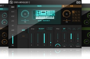 UVI Synth Anthology 2 GUI 310x205 - UVI Synth Anthology 2 preview