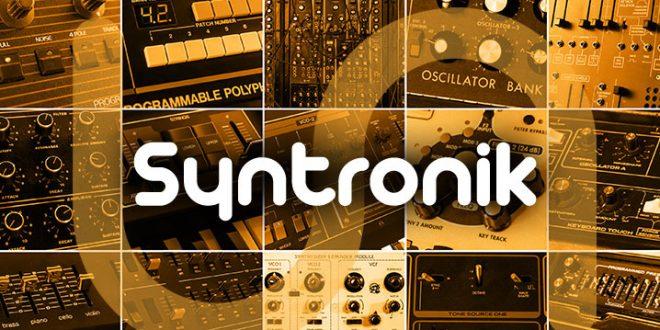 Syntronik 660x330 - IK Multimedia Syntronik - Vintage Synthesizer Plug-in