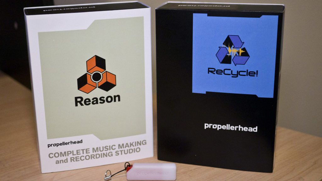 Propellerheads Reason e Recycle 1024x576 - Propellerhead products and macOS High Sierra