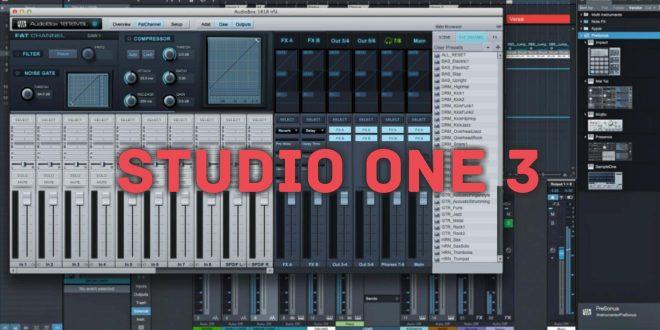 Studio ONE 3 PRO Age of Audio  660x330 - Presonus Studio One 3 Pro -  Registrazione audio di sistema con Audiobox 1818VSL