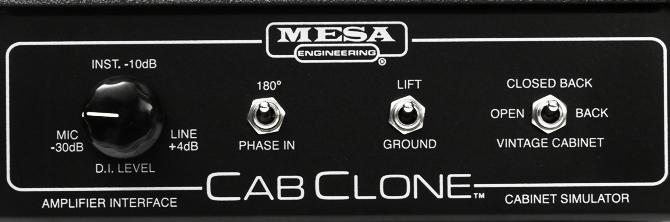 CabClone  - Mesa Boogie CabClone - Guitar Cabinet Simulators