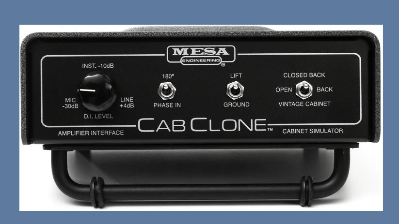 CabClone Mesa Boogie - Mesa Boogie CabClone - Guitar Cabinet Simulators