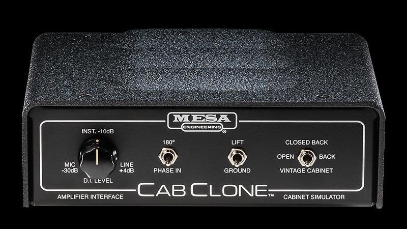 CabClone rear AgeofAudio - Mesa Boogie CabClone - Guitar Cabinet Simulators