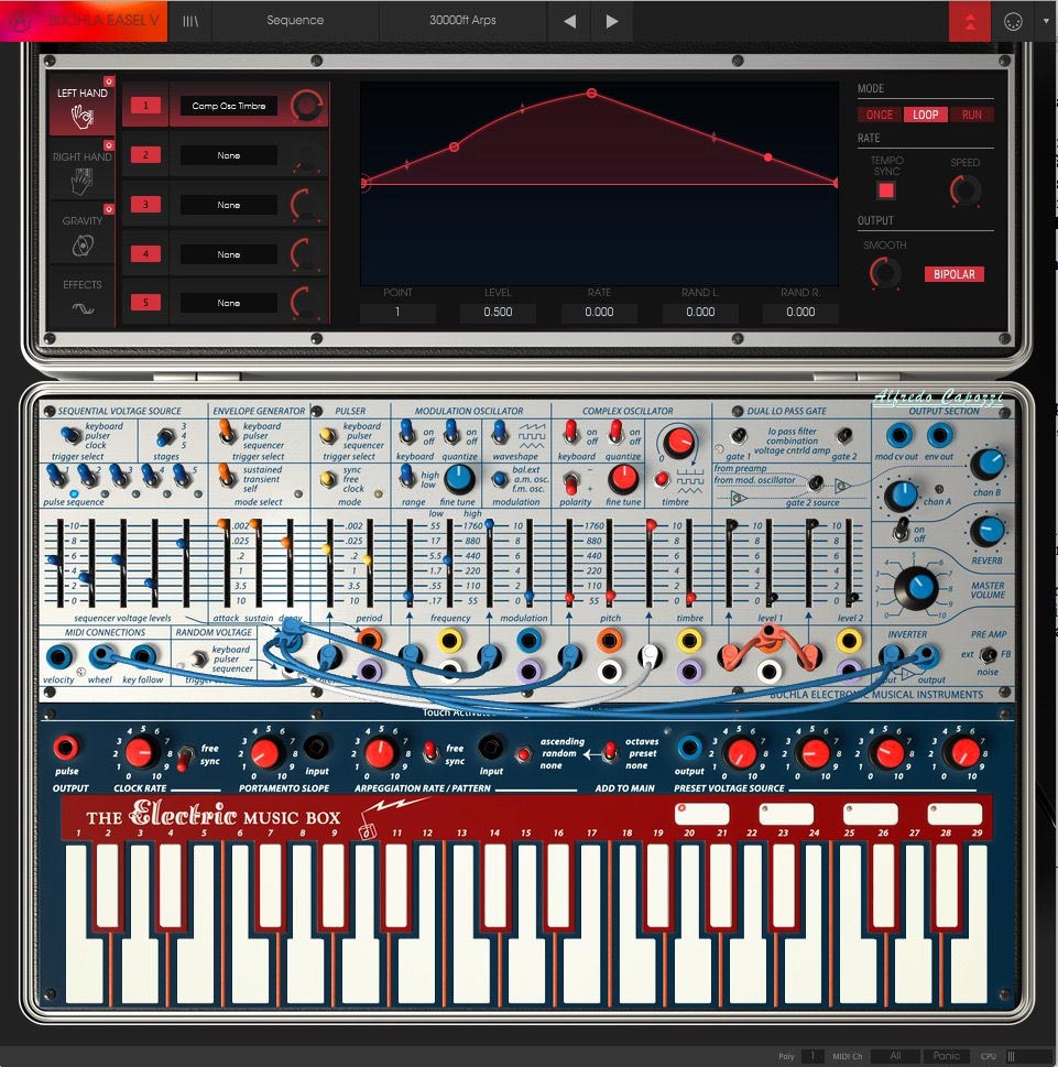 Buchla Easel 1 - ARTURIA V Collection 6
