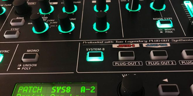 Roland System-8 – Non chiamatemi Virtual Analog