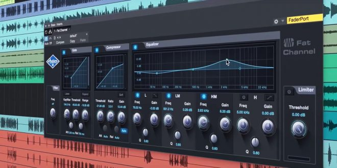 Studio One 3 Fat channel 660x330 - Presonus Studio One 3 - Channel editor creative mapping