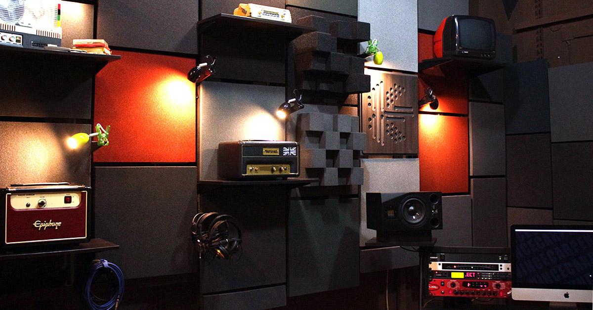 Interno 361° Guitar Lab - 361° Guitar Lab. Lo studio per il chitarrista 2.0