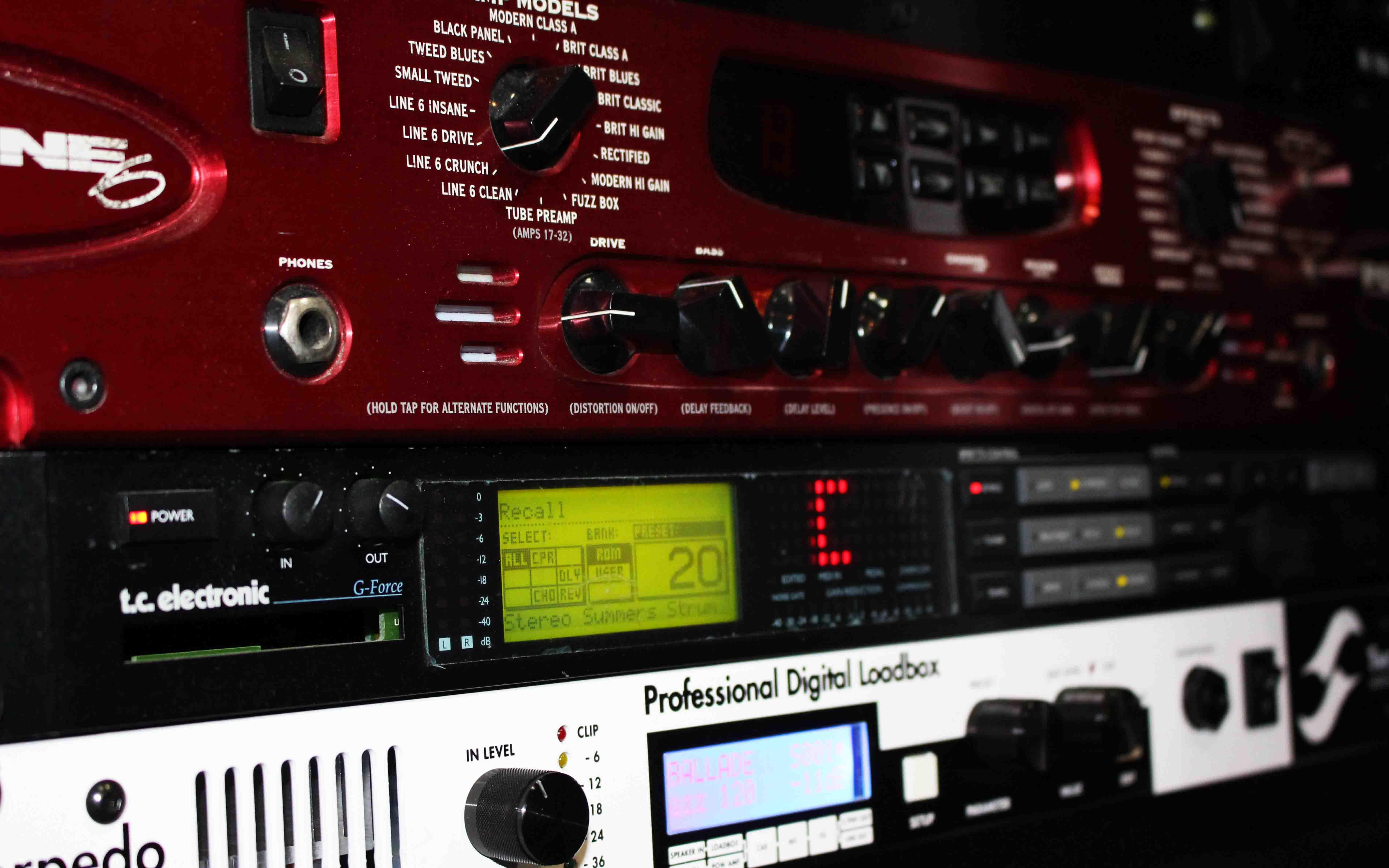 Outboard 361° Guitar Lab - 361° Guitar Lab. Lo studio per il chitarrista 2.0