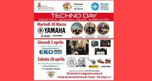 Techno Day AgeofAudio 310x165 - Techno Day - Didattica, session, demo, workshop.