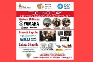 Techno Day AgeofAudio 310x205 - Techno Day - Didattica, session, demo, workshop.