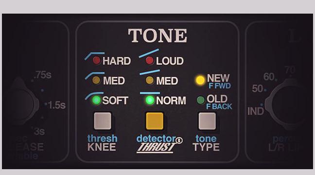Sezione Tone API 2500 UAD - API 2500 Bus compressor per UAD