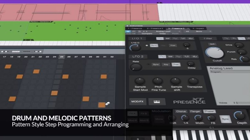 Patterns - Presonus annuncia a sorpresa  Studio One 4