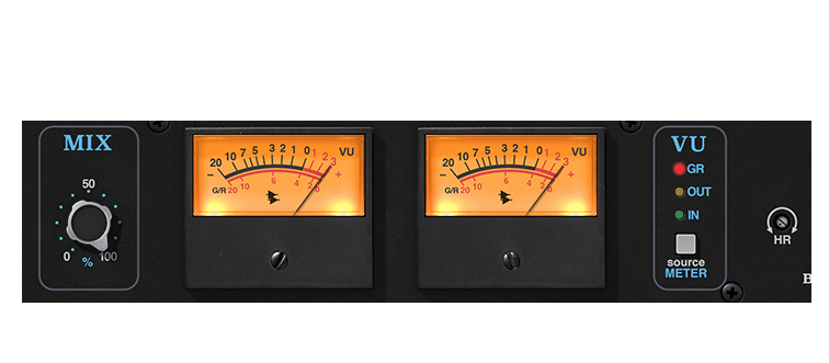 Sezione MIX API 2500 UAD - API 2500 Bus compressor per UAD