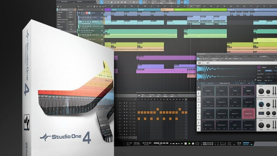 Studio One 4 song - Presonus annuncia a sorpresa  Studio One 4