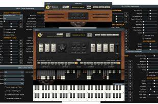GSi VB3 II AoA 310x205 - GSi - VB3 II Tonewheel Organ Simulator!
