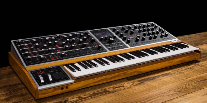 Moog One – The first Moog analog polyphonic synth.
