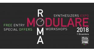 Banner RomaModulare 2018 310x165 - Roma Modulare 2018  - Synthesizer & WorkShops